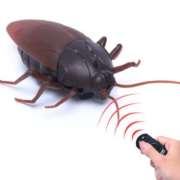 High Simulation Animal Cockroach Infrared Remote Control Kids Toy Gift