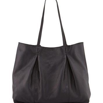 Austin Leather Tote Bag, Black - Kooba