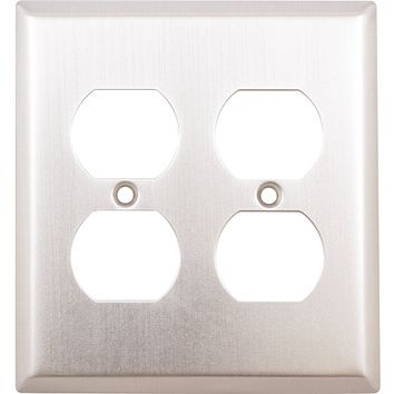 Double Outlet Plate