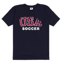 USA Soccer-Unisex Navy T-Shirt