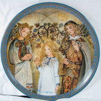 "Konigszelt Bayern Der Mittelpunkt ""THE CENTER"" Porcelain Art Plate New! Coa! mib! Sulamith's Love Song"