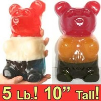 Sweet Factory Online Candy Store | America's Favorite Candy Store World's Largest Giant Gummy Bear - Multi Flavor 3 Color Astro (Gluten Free) Sweet Factory Online Candy Store | America's Favorite Candy Store