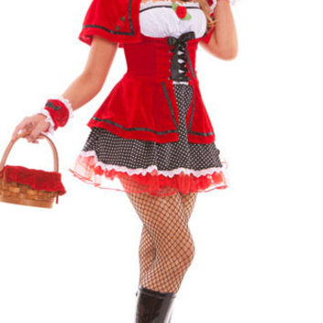 Red Riding Hood Costume Set