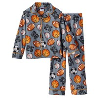 Up-Late All Sport 2-Piece Pajama Set - Boys