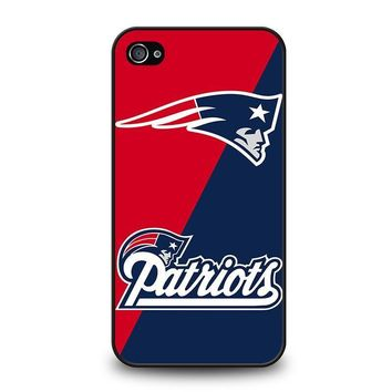 new england patriots iphone 4 4s case cover  number 1