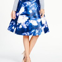 Kate Spade Dusk Clouds A Line Skirt