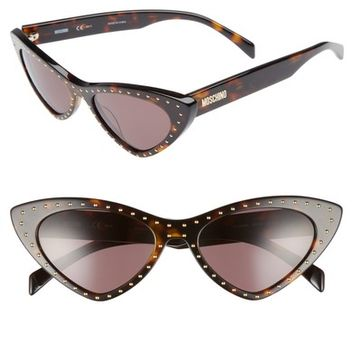 Moschino 52mm Cat's Eye Sunglasses | Nordstrom