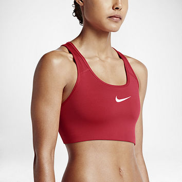 The Nike Pro Classic Swoosh Women's Medium Support Sports Bra.