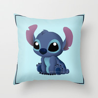 Chibi Stitch Throw Pillow by Katie Simpson | Society6