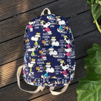 Women's Canvas Keep Cool and Carry On Backpack Travel Bag Outdoor Daypack