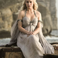 Game of Thrones Daenerys Targaryen Mother of Dragons Chiffon Dress