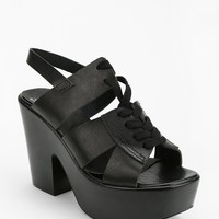 Shellys London Lace-Up Heeled Sandal - Urban Outfitters