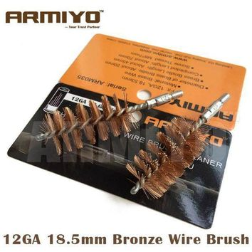 Armiyo Bronze Wire Rifle Barrel Brush Cleaner Hunting Gun Accessories (choose Caliber)