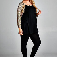 The Cats Meow Plus Size Maternity Shirt
