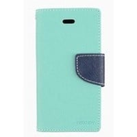 Meaci® Apple Iphone 5&5s Case/cover/holster Colourful & Fashion Folio Case Flip Feature with Kickstand&credit/id Card Holder Wallet Pu Leather Magnetic Buckle (Sky Blue)