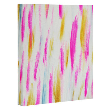 Allyson Johnson Brushed Brightly Art Canvas