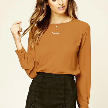 Contemporary Self-Tie Top