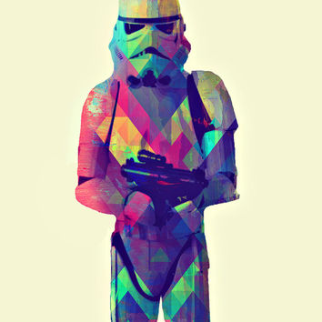 HeNCHMEN (Stormtrooper from Star Wars) - Digital Art Print - MULTIPLE SiZES AVAiLABLE