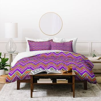Ingrid Padilla Purple Whim Duvet Cover