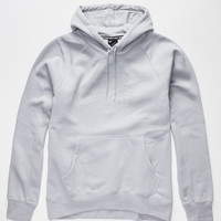 Nike Sb Icon Reflective Mens Hoodie Dark Grey  In Sizes