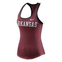 Nike College Marled Wordmark (Arkansas) Women's Tank Top