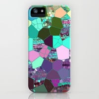 Purple and Teal Mosaic Abstract Phone Case, mosaic iphone 6, 6 plus iphone 5, Samsung s5, s6, colorful, popular, cases, protective, gadgets