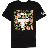 Neff Floral Bulls T-Shirt - Short-Sleeve - Men's Black,