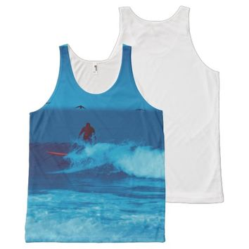 Surfing tank top All-Over print tank top