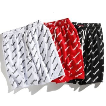 Unisex Stylish Supreme Sports Pants Shorts