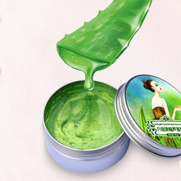 Aloe Vera Gel Soothing Moisturizing Whitening Cream AFY Anti-Acne Face Care