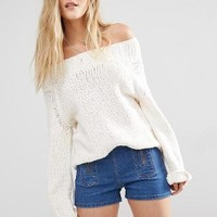 Free People | Free People Beachy Off Shoulder Sweater at ASOS