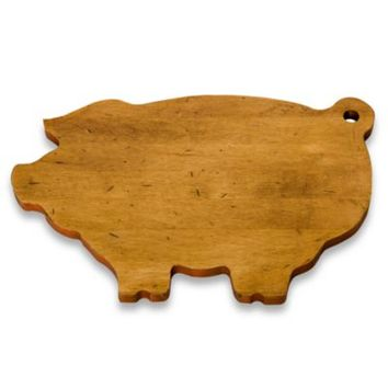 J.K. Adams Co. Novelty Cutting Board in Pig