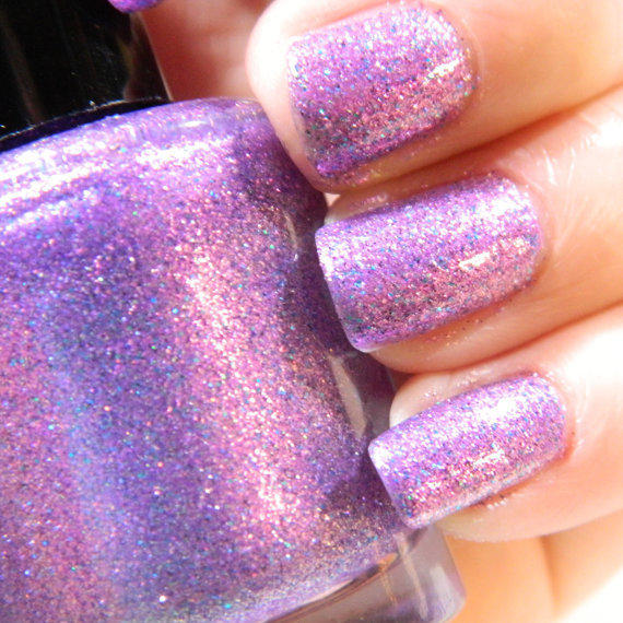 Lilac Dreams Nail Polish Purple Pink From KBShimmer On Etsy