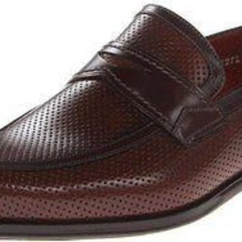 NEW MEZLAN FRANI COGNAC/BROWN MENS DRESS SHOES