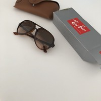 Ray-Ban Sunglasses RB4125 CATS 5000 Brown RRP-£135 Free Special Del Unisex