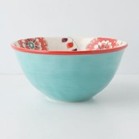 Cadiz Serving Bowl by Anthropologie Sky Pasta Serveware