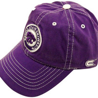 NCAA Kansas State Applique Purple Cap