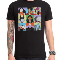 Disney Villains Characters T-Shirt