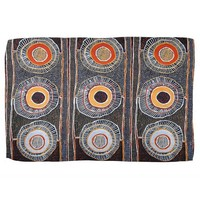 African Tribal Abstract Art Hand Towel