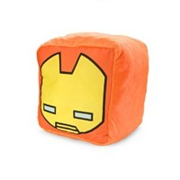 MARVEL Kawaii Art Collection Iron Man Cushion Cube Plush Pillow