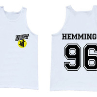 Luke Hemmings 5 Second Of Summer  Luke Hemmings California tank top