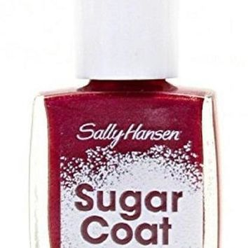 Sally Hansen Sugar Coat Textured Nail Color Nail Polish - Red Velvet