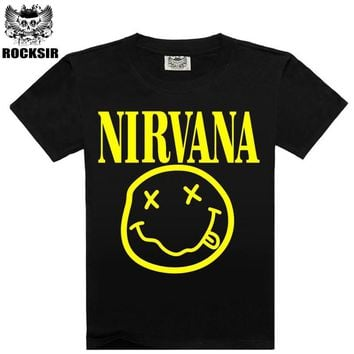 2016 New Fashion Summer design funny tee cute t shirt homme men's Nirvana Pumba women 100% cotton cool tshirt lovely top