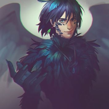 Howl, an art print by M