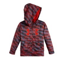 Under Armour Boys' Toddler UA Geo Stacked Printed Hoodie