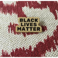 Black Lives Matter -- Enamel Pin
