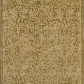 Surya Fitzgerald Arts and Crafts Neutral FGD-1000 Area Rug