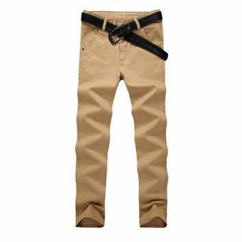 Mens Pants Slim Pants
