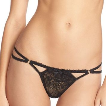 Women's L'Agent by Agent Provocateur 'Estella – Trixie' Lace Thong,