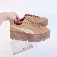 Puma Outdoor mountaineering version Rihanna thick soles shoes